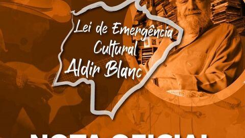 Fundação de Cultura assume: pagamentos da Lei Aldir Blanc irão atrasar