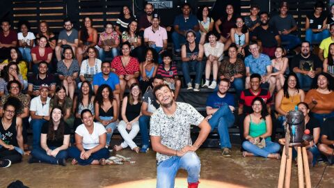Luciano Risalde traz espetáculo para 04 dias de apresentação através do Youtube