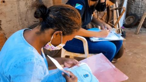 Equipes visitam casas de 70 mil famílias que ganharão R$ 200 por mês em MS