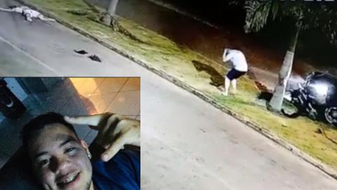 Vídeo: Andrew morre atingido por F-250 ao cruzar avenida preferencial