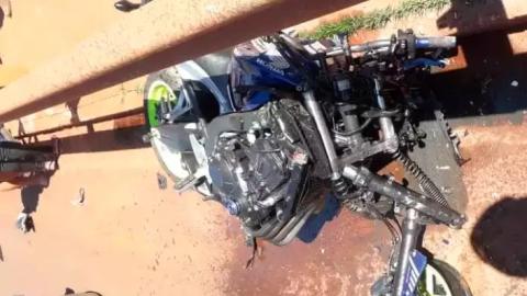 Benedito não resiste a ferimentos ao bater CB 650 contra Astra