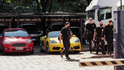 Operação 'fica em sigilo'; alvo vendia produtos de luxo e andava em porsche de até R$ 400 mil