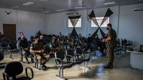 Servidores da Agepen são capacitados em instrução ministrada pelo Exército Brasileiro