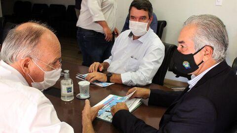 Governador anuncia novos investimentos em corredores logísticos de MS