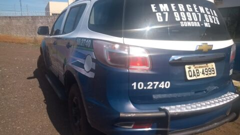 Polícia Militar homem por dirigir embriagado e por ameaça em Sonora