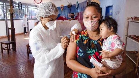 Campo Grande ultrapassa a marca de 25% da população já imunizada contra a Covid-19