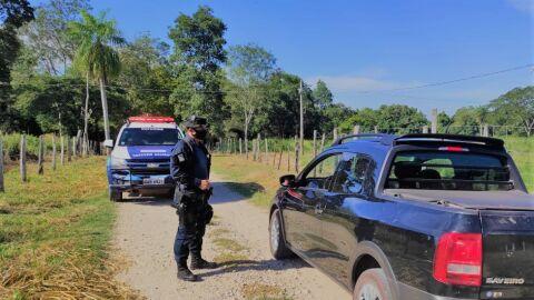 Polícia Militar de Corumbá Intensifica Patrulhamento e Fiscalização em Área Rural