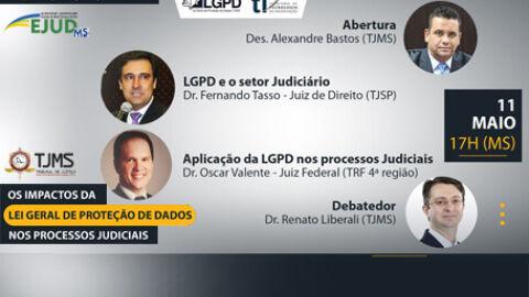 TJMS promove evento sobre proteção de dados nos processos judiciais