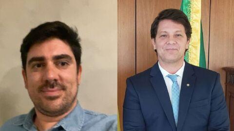 Marcelo Adnet pede R$ 80 mil de indenização por danos morais a Mario Frias