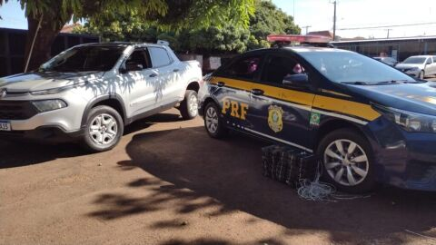 PRF apreende 37,8 Kg de pasta base de cocaína em Campo Grande (MS)