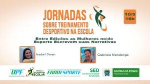 Curso on-line nesta segunda-feira discute o avanço das mulheres no esporte