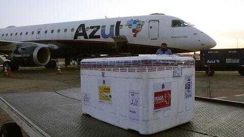 Mato Grosso do Sul recebe novo lote de vacina da Pfizer nesta segunda-feira