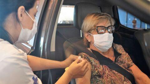 Vacinação contra Influenza de idosos de 90 anos começa nesta terça-feira