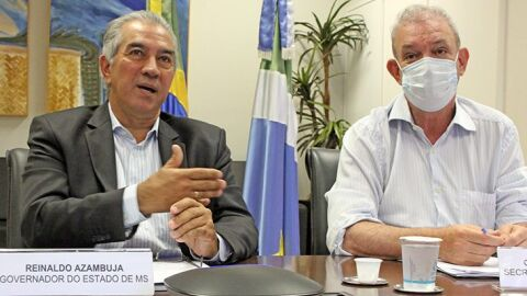 À Comissão da Covid-19 do Senado, Reinaldo Azambuja reforça importância de mais vacinas