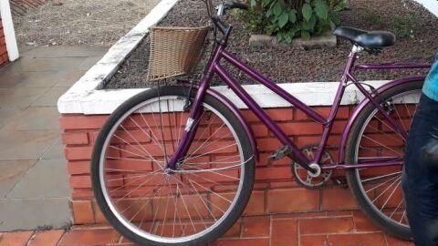 Ação rápida da PM recupera bicicleta furtada na região do Jardim Flórida