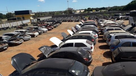 Detran-MS leiloa 150 motos e 30 automóveis a partir desta terça-feira (11) em Campo Grande