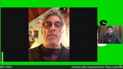 'Não temos um estadista, temos um terrorista', diz Ivan Lins
