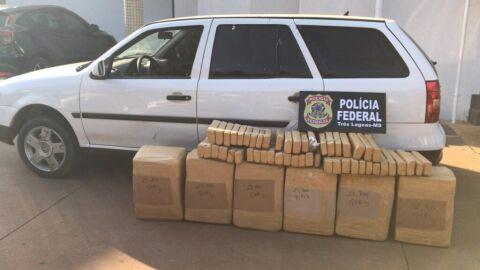 Polícia Federal apreende 200 kg de maconha em Três Lagoas/MS