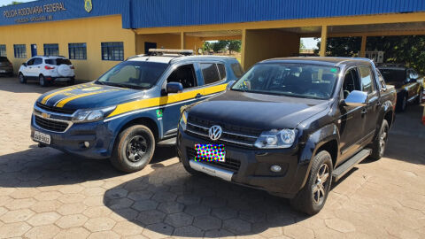 PRF recupera caminhonete e prende condutor em Bataguassu (MS)