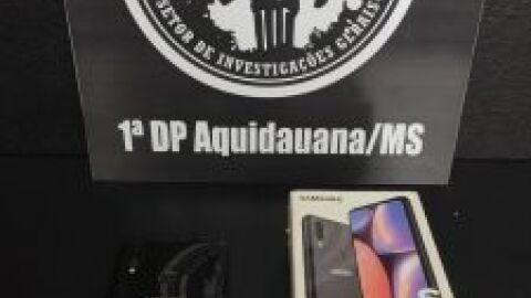 Polícia Civil recupera celular furtado, identifica suspeito e o indicia