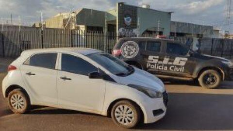 Polícia Civil recupera veículo roubado no estado de São Paulo