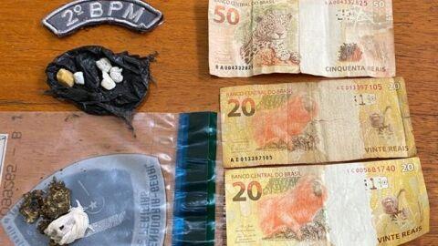 Polícia Militar prende homem por tráfico de drogas em Selvíria.