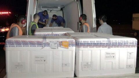 Mato Grosso do Sul recebe 21º lote de vacina contra COVID-19 nesta quinta-feira