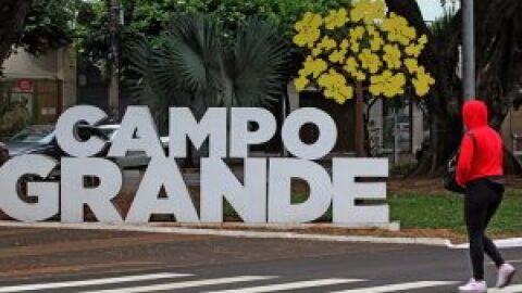 Vento sul contribui para mais um dia de temperaturas amenas em Mato Grosso do Sul