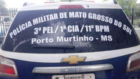"""Polícia Militar cumpre Mandado de Prisão durante """"Operação Hórus"""" em Porto Murtinho"""