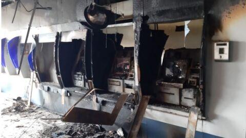 Polícia Federal faz buscas relacionadas a incêndio de caixas eletrônicos da CEF
