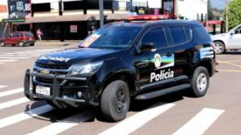 Suspeito de furto a comércios na madrugada desta quinta-feira é preso por policiais civis