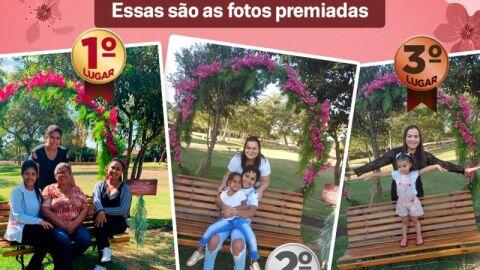 Prefeitura divulga ganhadores do Concurso de fotos de Dia das Mães.