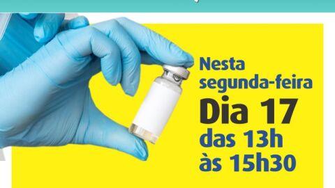 Vacinação da segunda dose da CoronaVac segue nesta segunda-feira