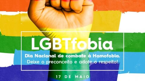 Prefeitura celebra Dia de Combate à LGBTfobia.