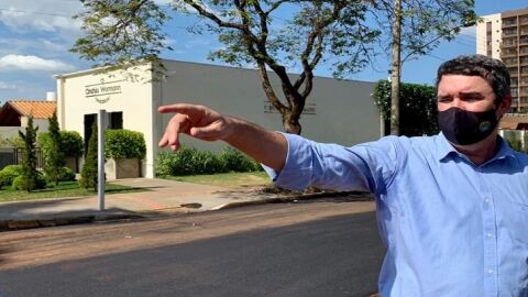 Riedel acompanha obras em Dourados, reúne-se com lideranças e ouve demandas da população
