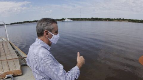 Em Porto Murtinho, presidente destaca importância de ponte ao desenvolvimento de MS