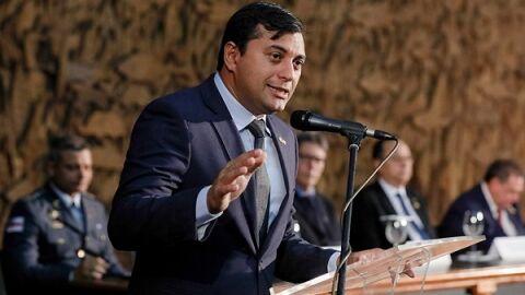 """Por decisão do STF, governador Wilson Lima (AM) """"escapa"""" da CPI hoje (10.jun.2021)"""