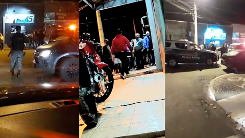 Vídeo: a 48h da eleição, comitê vira palco de acusações de 'calote' e trocas de agressões
