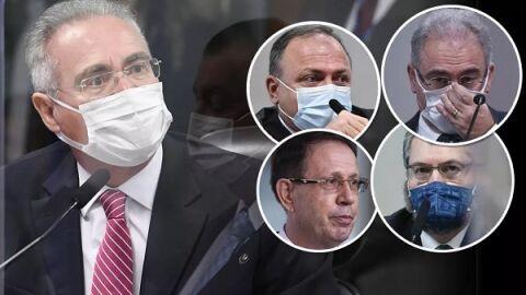 Pazuello, Queiroga e Araújo na lista para se tornarem investigados na CPI