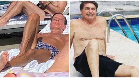 """Doria diz que Bolsonaro está apaixonado por ele: """"Tonho da Lua deve estar morrendo de ciúmes"""""""