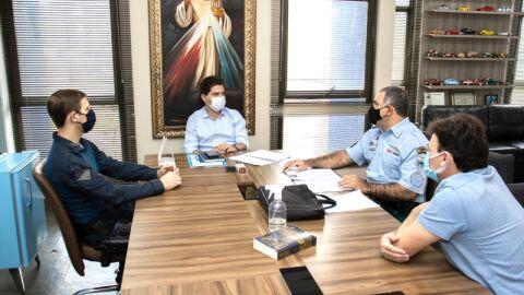 Parceria Prefeitura e PM vai concluir obra do Posto Policial em Vista Alegre