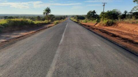 Pavimentação entre distritos de Coxim é realização de sonho antigo