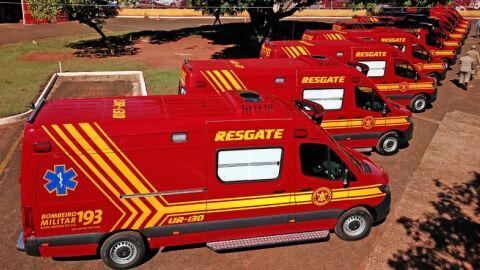 Prefeitura de Maracaju é contemplada com nova viatura de salvamento para o Corpo de Bombeiros