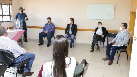 Prefeitura de Maracaju se reúne com diretores da ASSEMA.