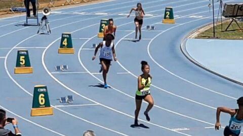 Ana Laura quebra novo recorde e fica na 4ª colocação no Ranking Nacional de Atletismo