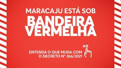 Maracaju volta a Bandeira Vermelha e Prefeitura divulga novo decreto municipal.