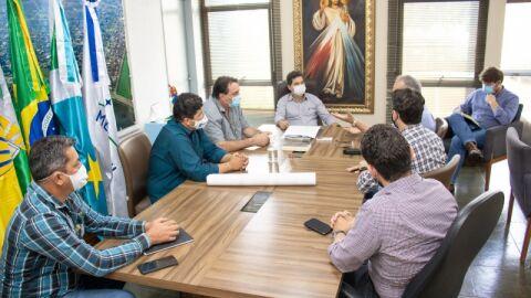 Prefeitura e Governo do Estado planejam reforma do Prédio do Detran de Maracaju.
