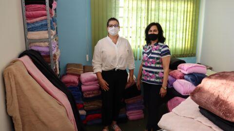 Mais 593 cobertores serão doados na Campanha do Agasalho