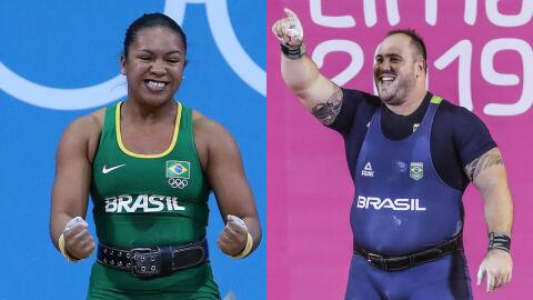 Brasil já confirma 2 nomes para levantamento de pesos nos Jogos Olímpicos de Tóquio