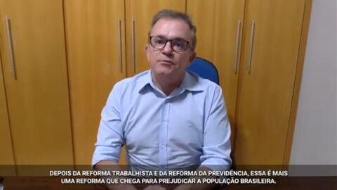 """Vander é contra """"ladainha"""" de Paulo Guedes de que """"Brasil decola com Reforma"""""""